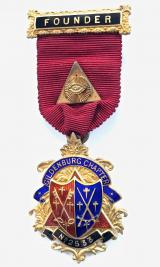 Royal Arch Gildenburg Chapter 2533 Masonic Founder Jewel