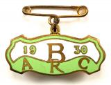 Brooklands Automobile Racing Club 1930 BARC badge