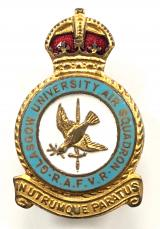 RAFVR Glasgow University Air Squadron badge