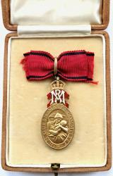 H.M.Queen Mary's Committee for District Nursing medal and case