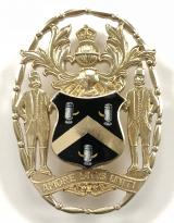 The Worshipful Company of Tin Plate Workers silver badge