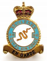 RAF No 88  (Hong Kong) Squadron Royal Air Force badge c1950s