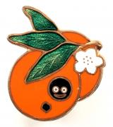 Robertsons pre war Golly orange fruit badge