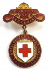 British Red Cross Society County of Berkshire badge