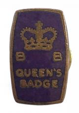 Boys Brigade Queens Badge 1968 to 1984 miniature enamel award