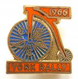 Cyclists Touring Club 1966 CTC York rally penny farthing badge