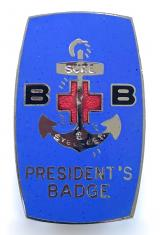 Boys Brigade Presidents first issue badge