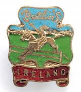 Butlins 1953 Mosney Ireland holiday camp horse and rider badge