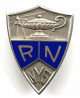 New York State Registered Nurse silver badge by Dieges & Clust