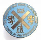 Oswestry and North Staffordshire school of physiotherapy badge