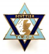Young Women's Christian Association YWCA Scottish Division badge