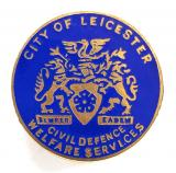 City of Leicester Civil Defence Welfare Services home front badge