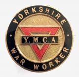 WW2 Yorkshire War Worker YMCA home front badge
