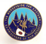 Merseyside Far Eastern ex-prisoner of war association badge