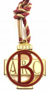 Brooklands Automobile Racing Club 1936 BARC members badge