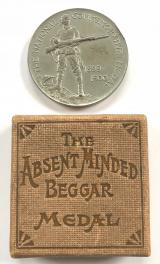 The Absent Minded Beggar Medal & Box 1899 -1900 by Spink