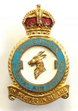RAF No 26 Squadron Royal Air Force badge circa 1940s