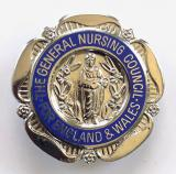 General Nursing Council SRN and RSCN badge