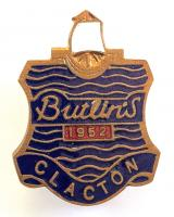 Butlins 1952 Clacton holiday camp badge