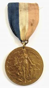 WW1 Victory and Peace Celebrations 1919 Birmingham medal