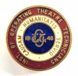 Institute of Operating Theatre Technicians hospital IOTT badge