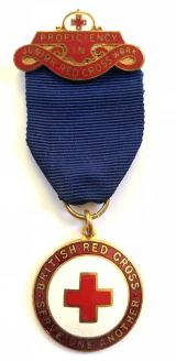 BRCS Proficiency in Junior Red Cross Work Medal