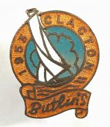 Butlins 1953 Clacton holiday camp sailing yacht badge
