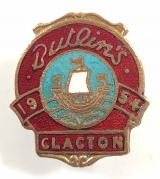 Butlins 1954 Clacton holiday camp badge