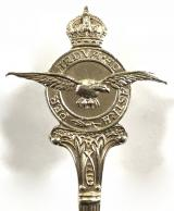Royal Air Force 1955 silver RAF prize spoon