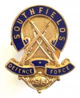 Southfields 1914 Volunteer Training Corps VTC lapel badge