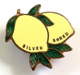 Robertsons Silver Shred Marmalade advertising badge MILLER