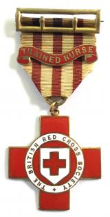 British Red Cross Society VAD Trained Nurse technical medal