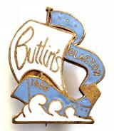 Butlins 1950 Clacton holiday camp sailing boat badge
