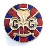 Girl Guides Union Jack Flag friendship badge