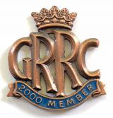 Goodwood Road Racing Club GRRC 2000 membership badge