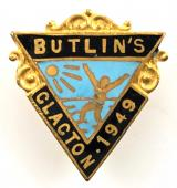 Butlins 1949 Clacton holiday camp badge