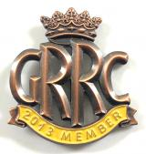 Goodwood Road Racing Club GRRC 2013 member badge