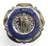 General Nursing Council State Registered Nurse SRN badge