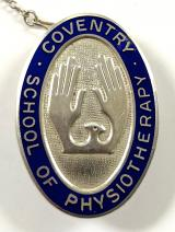 Coventry School of Physiotherapy silver badge