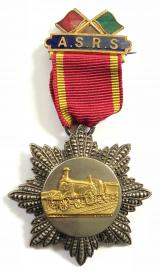 Amalgamated Society of Railway Servants Medal trade union badge 1872 to 1913