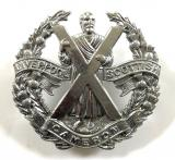 Liverpool Scottish (Camerons) Glengarry cap badge by Gaunt London