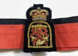 Queen Alexandra's Royal Naval Nursing Service QARNNS hat band & badge