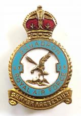RAF No 23 Battle of Britain Squadron Royal Air Force badge