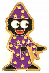 Robertsons fancy dress range Golly Wizard promotional badge