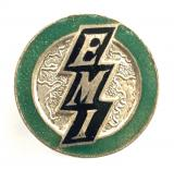 Electric Musical Industries EMI salesmans promotional badge