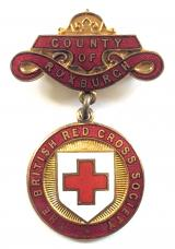 British Red Cross Society BRCS Scottish County of Roxburgh badge