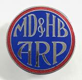 Mersey Docks & Harbour Board ARP pin badge
