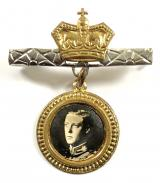 Prince Edward The Prince of Wales Far East Tour 1921 badge