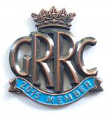 Goodwood Road Racing Club GRRC 2015 member badge