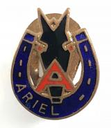 Ariel Motorcycle Company Birmingham advertising badge circa 1930's